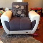 Armchair-Evanston-Upholstery-cleaning